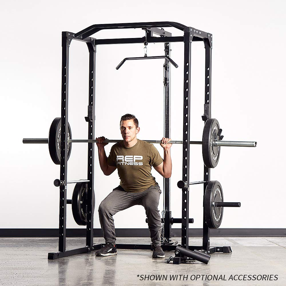 Rep PR-1100 Power Rack - 1,000 lbs Rated Lifting Cage for Weight Training by Rep Fitness (Image #8)
