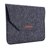 11 macbook air sleeve - Apple Macbook Air Pro 11 Felt Sleeve Laptop Case Cover Bag, Umiko(TM) Carrying Sleeve Case Cover Protective Laptop Bag for MacBook Air with Retina Display/ 11-inch Girls Women Dark Gray