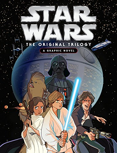 Book cover for Star Wars: Original Trilogy Graphic Novel