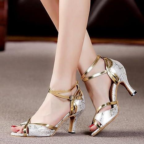 Scarpe Sandalo Donna Da Satinatosneakertacco Latino Pratica Xue SzwPIxP