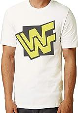 Retro Tees Men's 90s Wrestling WWF Logo T-Shirt