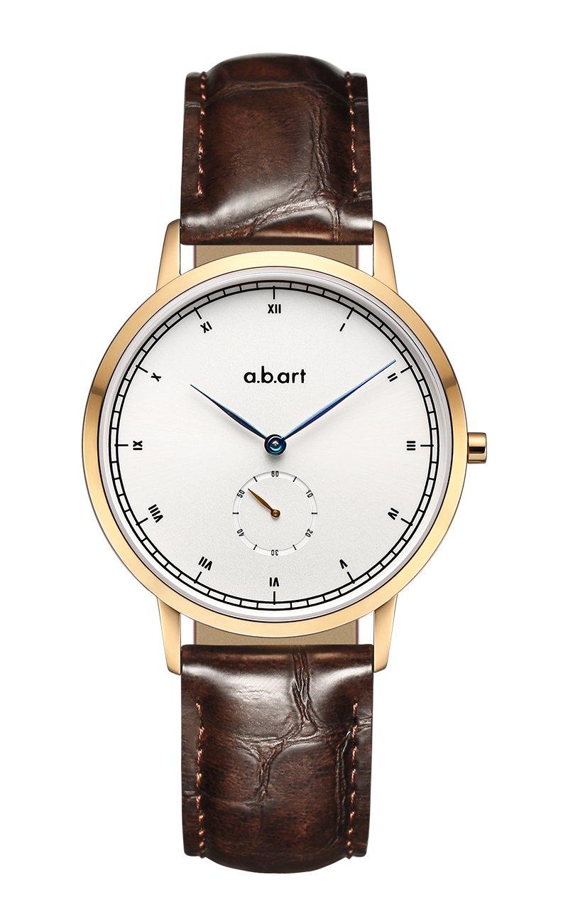 a.b.Art FG36-001-4DL Roman Numeral Women Watch Rose Gold Case Wrist Watch