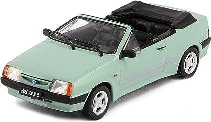 VAZ 2108 LADA SAMARA USSR Russian Hatchback Green 1:43 Scale Diecast Model Car