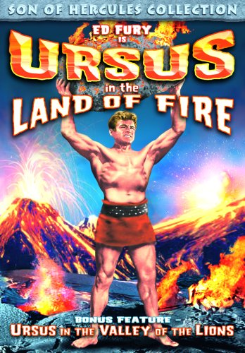 DVD : Ed Fury - Ursus In The Land Of Fire /  Ursus In The Valley Of The Lions (Colorized)
