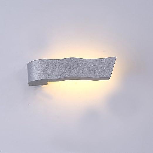Lampada 3 W da parete Lanfu bianco caldo applique eleganti e moderne ...
