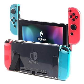 BigBlue Funda para Nintendo Switch, Suave TPU Carcasa de ...