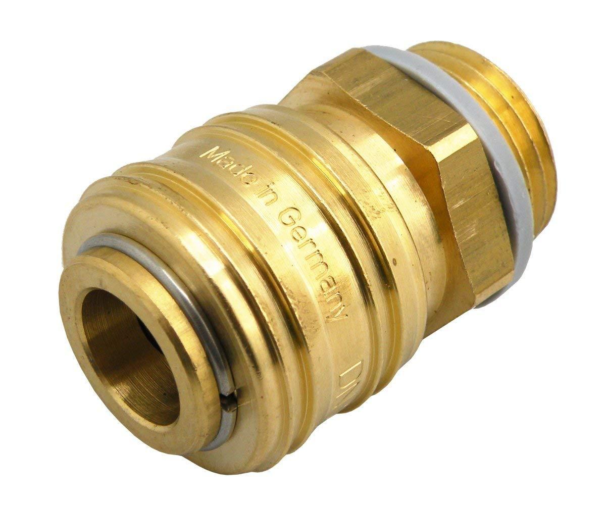 G1//8 G 1//2 G1//2 G3//8 Druckluftkupplung mit Au/ßengewinde NW 7,2 G1//4