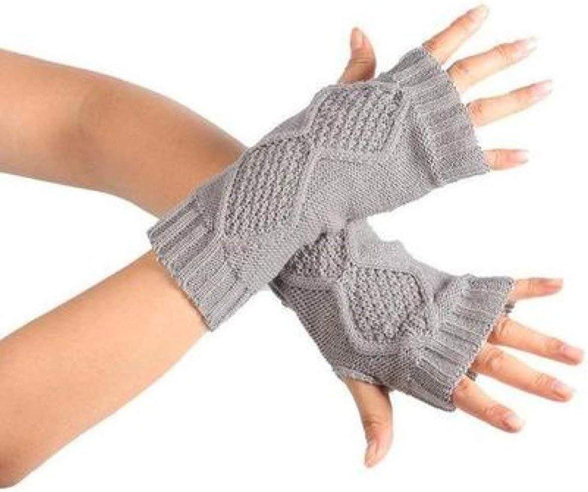 Women Knit Mitten Practical
