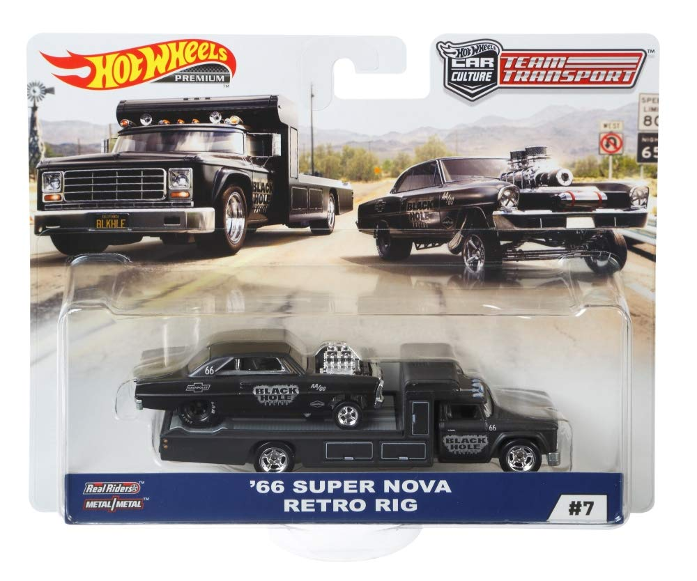 HOT WHEELS RETRO RIG Vehicle