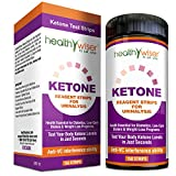 Ketone Test Strips – Great for Diabetics, Weight loss, Low Carb, & Fat Burning (100 + 50) Testing Levels of Ketones - Get on Track with Atkins Diet, Ketosis, Ketogenic, Diabetic & Paleo Diet
