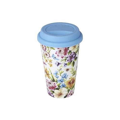 Creative Tops Katie Alice English Garden - isolé Tasse Voyage Eco porcelaine avec couvercle
