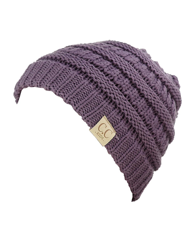 NYFASHION101® Kinder C.C Herzig Warm und Bequem Kinder gestrickt Ski Beanie Hut