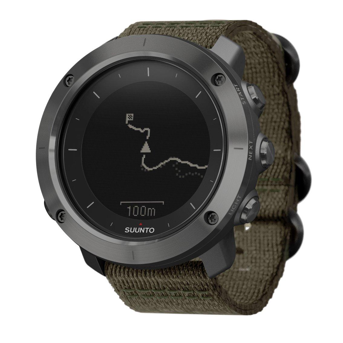 SUUNTO TRAVERSE (スント トラバース) スマートウォッチ GPS 登山 気圧計 [日本正規品] B019QE5Q68 スレート スレート