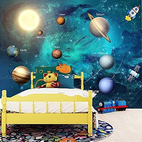 Yshasag Peinture Murale En Soie Fond D Ecran 3d Espace Univers