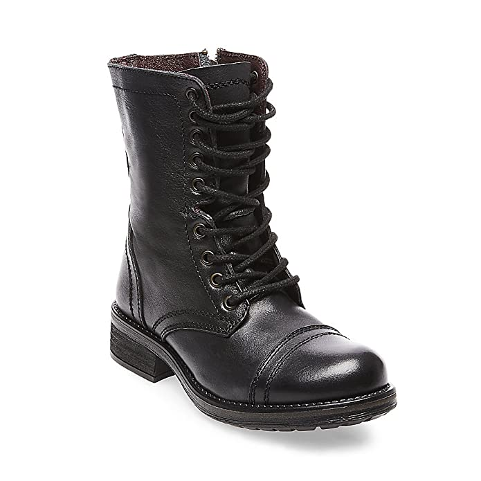 604aa48f145 Steve Madden Women's Troopa 2.0 Combat Boot