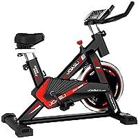 Bicicleta Spinning Perpetual Fitness Bici Estática Indoor Volante Inercia 9KG Resistencia Ajustable Monitor LCD Gimnasio…