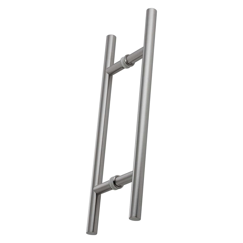 Sto/ßgriffpaar 500//300 mm f/ür Glas und Holzt/üren