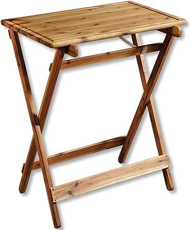 KESPER BBQ Beistelltisch Serviertisch klappbar Holztisch