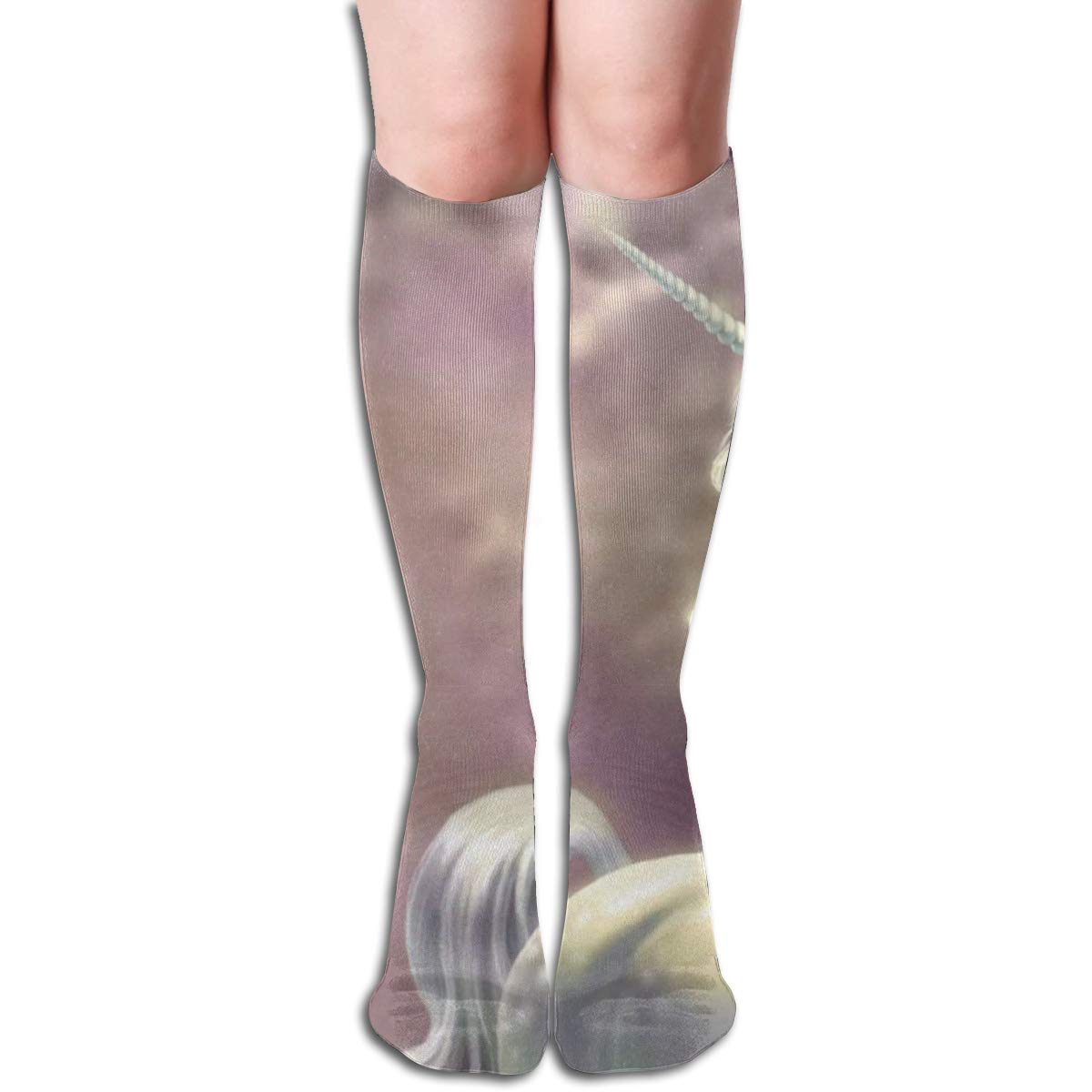 Stretch Stocking Horse Fantasy Soccer Socks Over The Calf Special For Running,Athletic,Travel