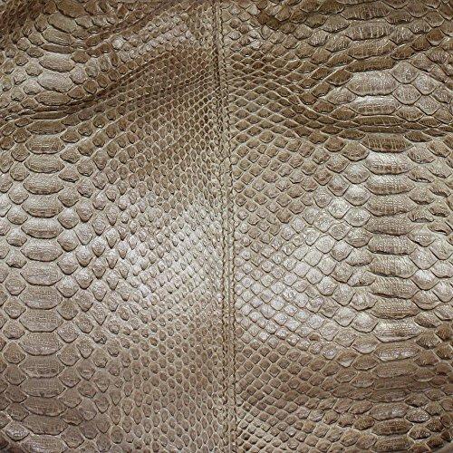Reptiles House, Borsa a spalla donna beige Sand, Beige