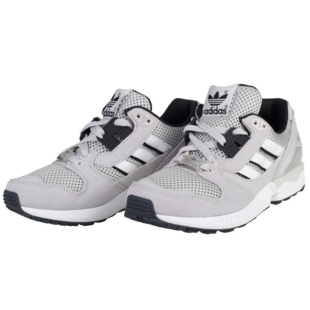 e11227423 adidas ZX 8000 - B24858 - Color Grey-Black-White - Size  4.0  Amazon.co.uk   Shoes   Bags