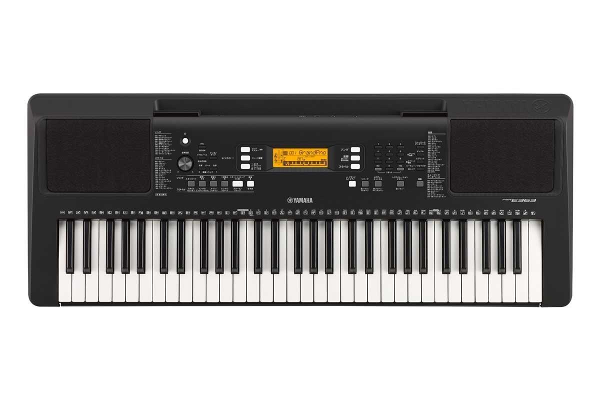 ヤマハ YAMAHA 電子キーボード PORTATONE ポータトーン PSR-E363 単品  B071HQG6GH