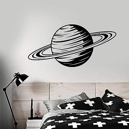 yiyitop Planeta de Dibujos Animados Saturno Espacio Tema Vinilo ...