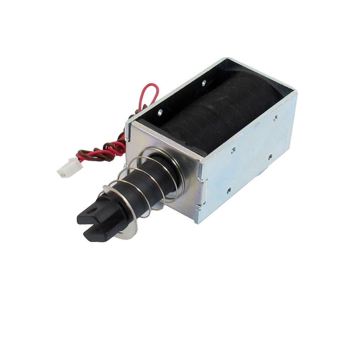 uxcell DC 12V 0.96A 100GF Force 19mm Stroke Solenoid Electromagnet