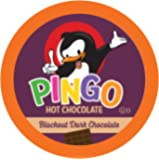 Pingo Dark Hot Chocolate Pods for Keurig K-Cup Brewers, Blackout, 40 Count