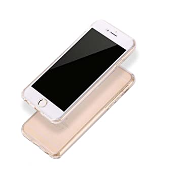 Ordica France Funda iPhone 7, Lincivius®, Carcasa iPhone 7 TPU Full Cover 360 Grados Integral Estuche Protección Accesorios Fina Resistente Flexibles ...