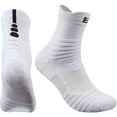 DishyKooker Calcetines de baloncesto para hombre, calcetines ...