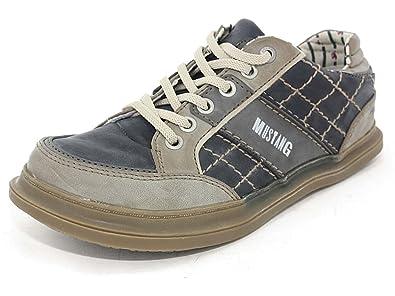 Mustang Shoes Damen Sneaker, Modisch, c74must025, Blau