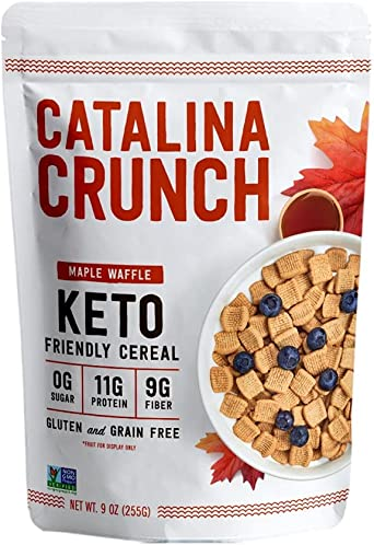 Cereales cetogénicos con jarabe de arce   Sin azúcar ...