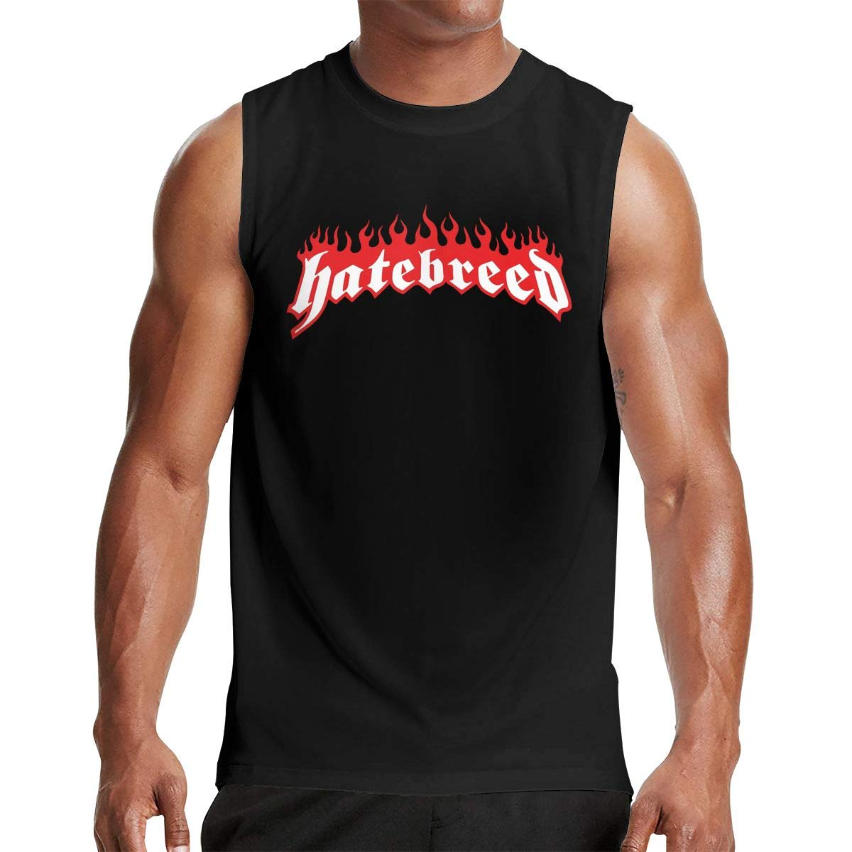 Thomlarryca Particular Hatebreed S Gym Muscle T Shirt Classic Athletic Sleeveless T Sh