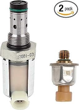 IPR Injector Pressure Regulator Valve for Ford Powerstroke 6.0L Diesel Engines E-350 Excursion F-250 F-350 Super Duty Replace # 5C3Z9C968CA 5C3Z-9C968CA 1846057C1 CM-5126 CM5126 AP63417 HTV102