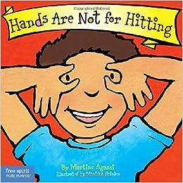 Hands are not for hitting board book best behavior series hands are not for hitting board book best behavior series martine agassi phd marieka heinlen 9781575422008 amazon books fandeluxe Images