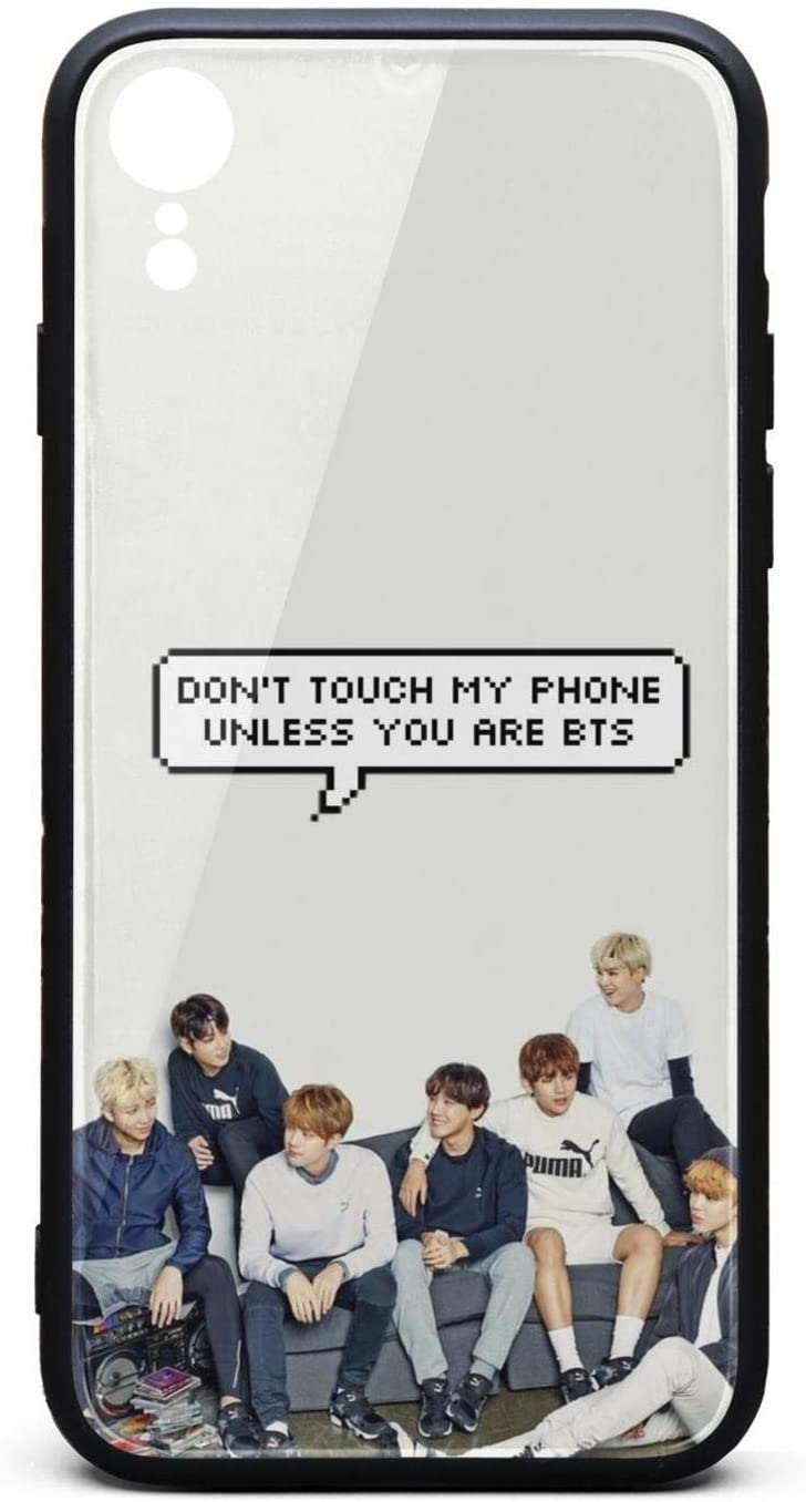 Amazon Com Bts Funny Kpop Iphone Xr Case Cell Pc Back Fashion Full Protective Fashion Cover Case For Apple Iphonexr
