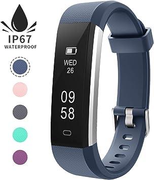 Pulsera de Actividad Inteligente, Sumergible Reloj Deportivo IP67 ...