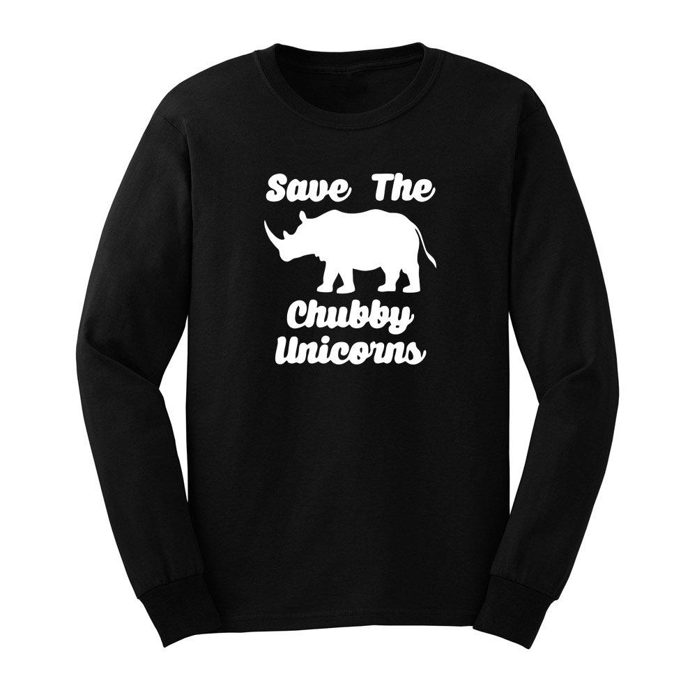 S Save The Chubby Unicorns Funny T Shirts Casual Tee
