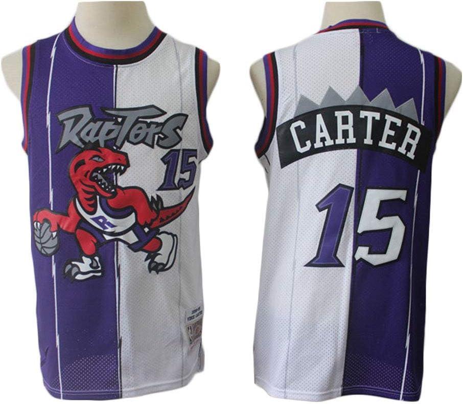 Toronto Raptors # 15 Vince Carter Baloncesto Jersey Sin Mangas ...