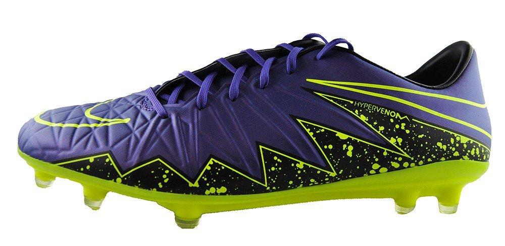 Nike Hypervenom Phatal II FG soccer football shoes hyper grape/volt-black New 749893-550 - 6 by Nike