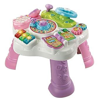 VTech 80-181584 - Mesa de Juegos, Color Rosa: Amazon.es ...