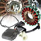 #9: eMotorcycleUSA OEM Replacement Stator + Regulator Refectifier + Gasket for 03-06 Honda CBR600RR