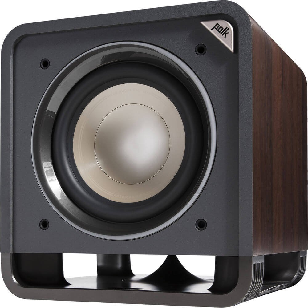 Polk Audio 10 Inches 200 Watts Home Theater Subwoofer Black Walnut (HTS SUB 10 BLK WAL) by Polk Audio