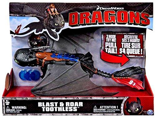 DreamWorks Dragons, Deluxe Electronic Blast & Roar Toothless