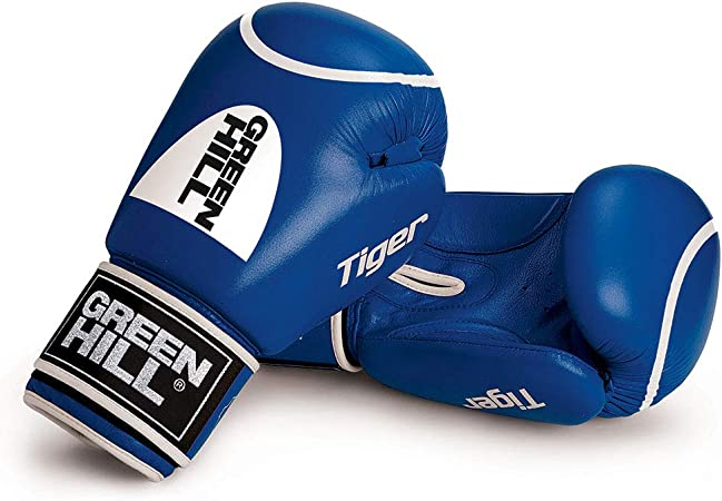 GREEN HILL Guantes DE Boxeo Tiger Rojo Azul Guante ANTISHOCK: Amazon.es: Deportes y aire libre