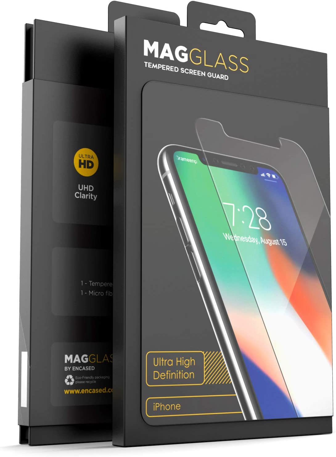 Amazon Com Magglass Iphone 11 Pro Max Iphone Xs Max Tempered Glass Screen Protector Uhd Ultra Clear Scratch Resistant Display Bubble Free Case Friendly