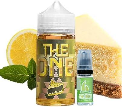 E Liquid The One Creamy Lemon Crumble Cake 100ml - 70vg 30pg - booster shortfill + ELiquid The Boat 10 ml lima limón - Pack de 2 unidades para cigarrillo electrónico.: Amazon.es: Salud y cuidado personal