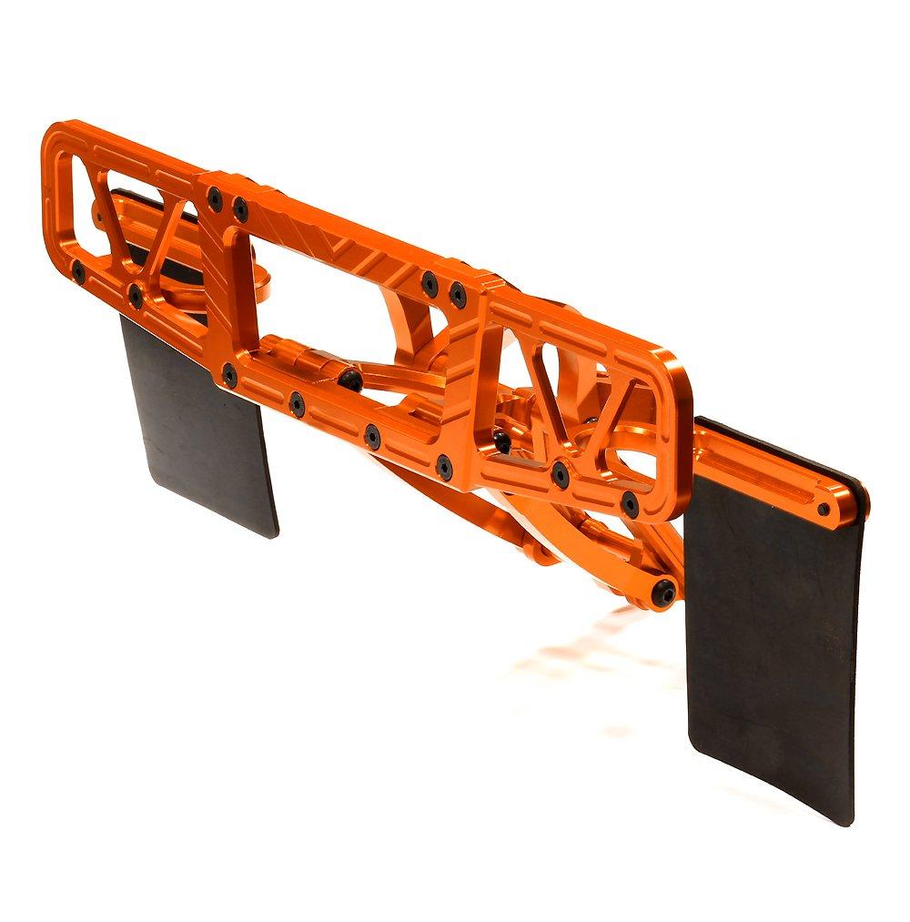5B2.0 5T /& 5SC Integy RC Model Hop-ups BAJ325ORANGE Billet Machined T5 Rear Bumper for HPI Baja 5B