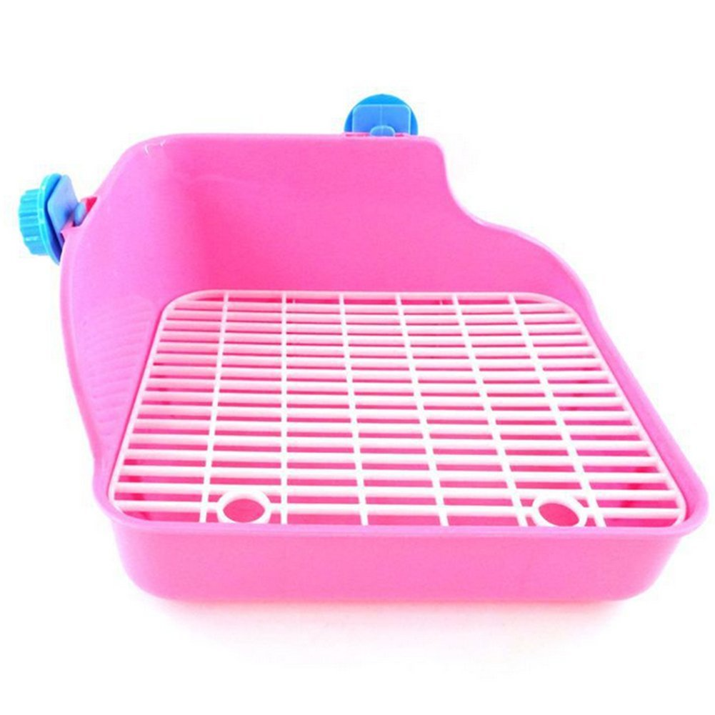 Toilettes propre Wicemonon pour animal domestique, lapin - Double maille - Anti-projection d'urine Wicemoon